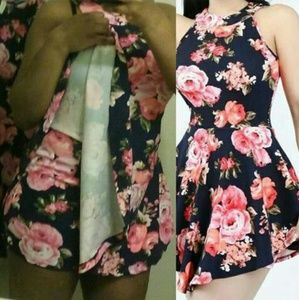 Brand new Floral Romper without tags